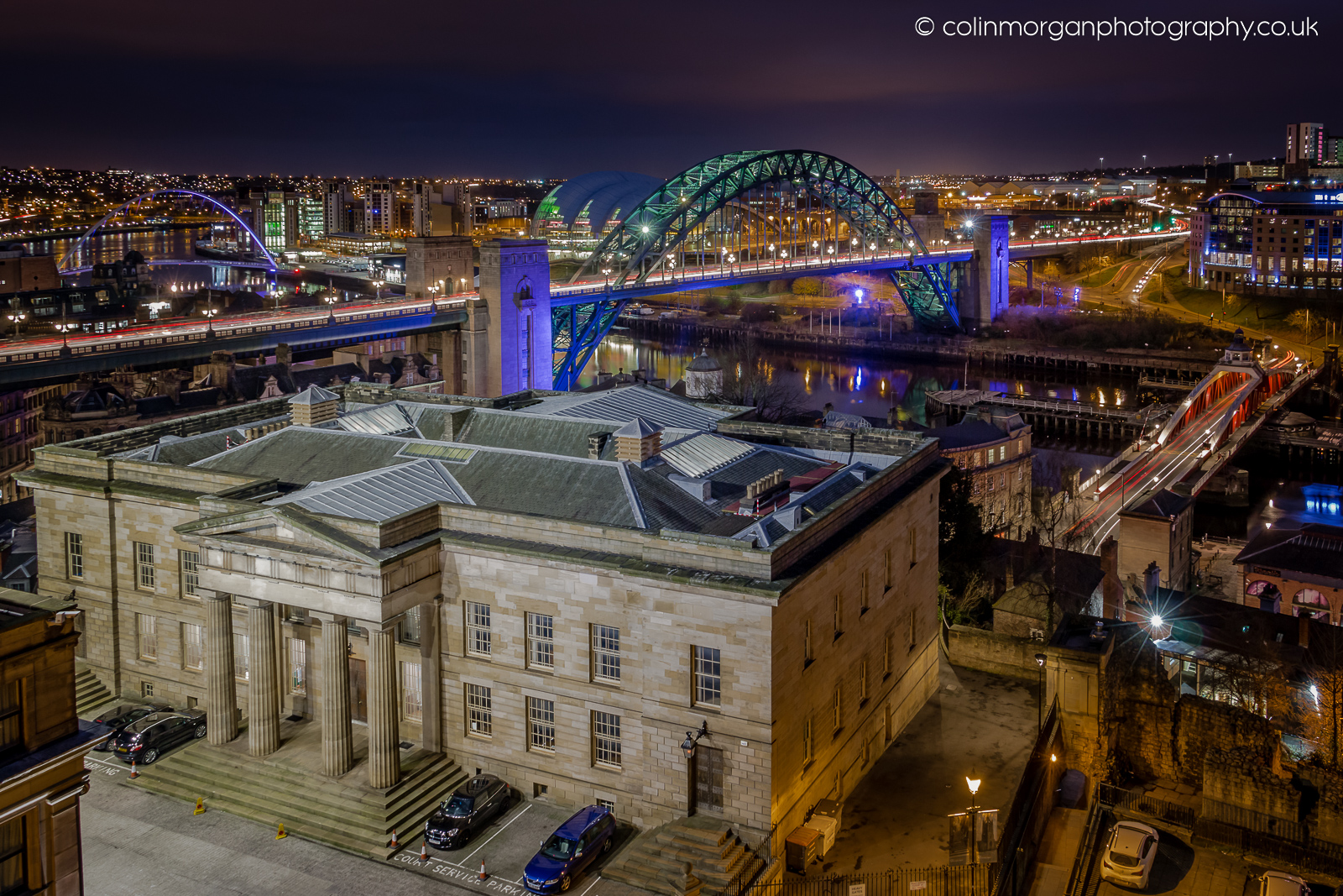 Colin Morgan Photography, Moot Hall and the River Tyne Colin Morgan Photography
