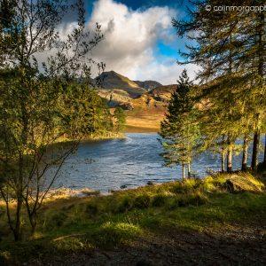 © Early Sunlight at Blea Tarn. Ref 9808. Colin Morgan Photography. Landscape Photograph | Print | Canvas