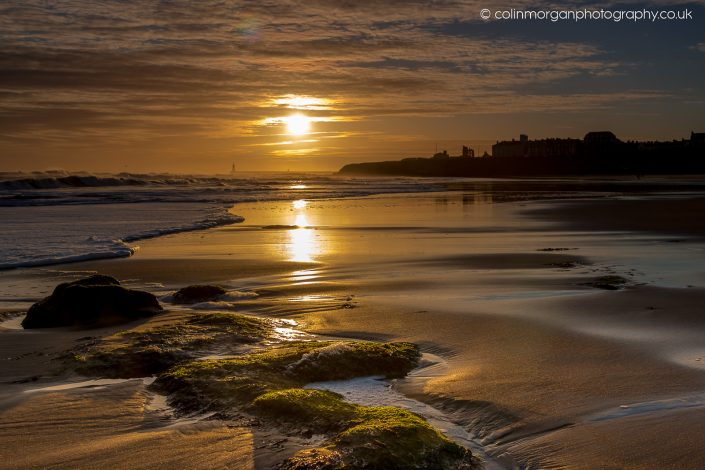 Sunrise at Tynemouth Longsands. Ref 8735 Colin Morgan Photography © Seascape Photograph | Print | Canvas