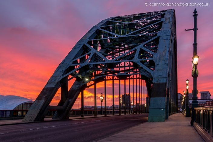 Tyne Bridge Sunrise. Ref 6590 Colin Morgan Photography © Cityscape Photograph | Print | Canvas