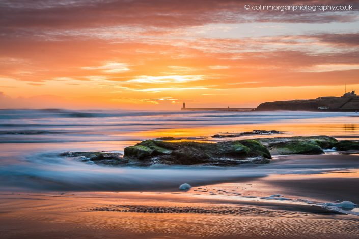 Tynemouth Sunrise. Ref 8622 Colin Morgan Photography © Seascape Photograph | Print | Canvas