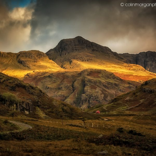 Colin Morgan Photography Sunlight on the Langdale Pikes, Lake District, UK. © Landscape Photograph | Print | Canvas